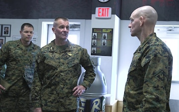 Sergeant Major of the Marine Corps visits MCAS Cherry Point