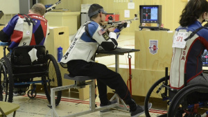 USAMU international Paralympic rifle shooter competes for Team USA in 2020 Olympics