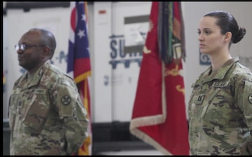 945th Engineer Company Change of Command
