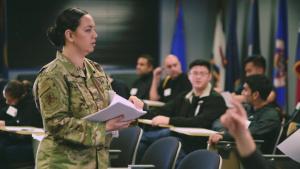 Tech. Sgt. Danielle Eaton - 349th Air Mobility Wing Feature Airman