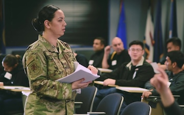 Tech. Sgt. Danielle Eaton - 349th Air Mobility Wing Feature Airman
