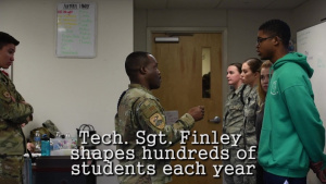 Tech. Sgt. Derwin Finley, Military Training Leader