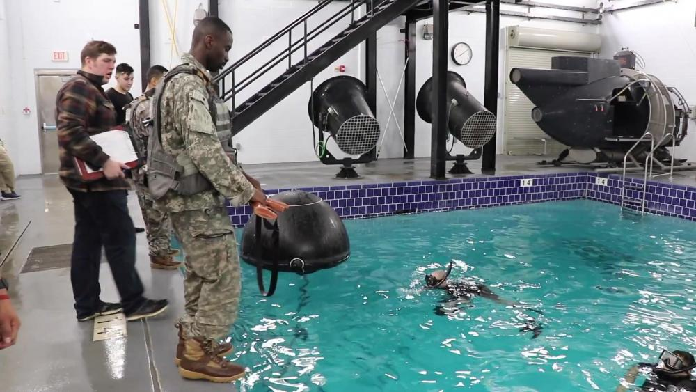 US Army – Combat Water Survival Training Develops Soldier Skills and Confidence