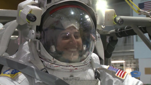 Marine Astronaut Aims for the Moon