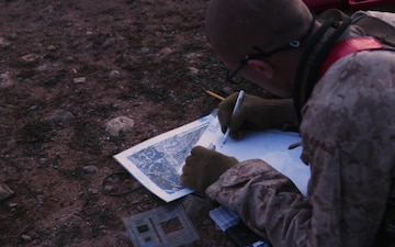 BRC Marines conduct land navigation exercise