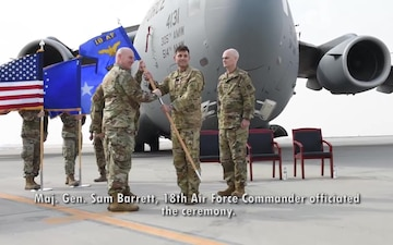 385th Air Expeditionary Group Change of Command