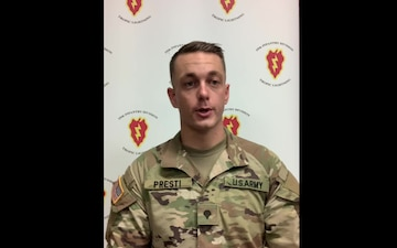 Spc. Paul Presti 25th ID Sponsorship video
