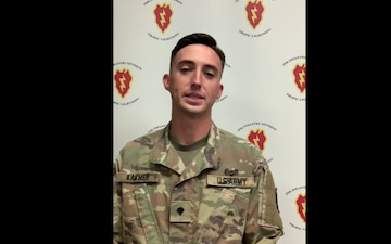 Spc. Ethan Krammer 25th ID Sponsorship Video
