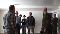 Sgt. Maj. Troy Black visits MCB Camp Lejeune and New River