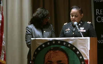 Army Reserve Soldier honors trailblazer at Martin Luther King event