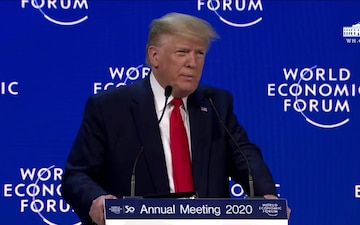 President Trump Delivers Opening Remarks at the World Economic Forum