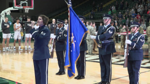 Wright State Military Appreciation Basketball Game