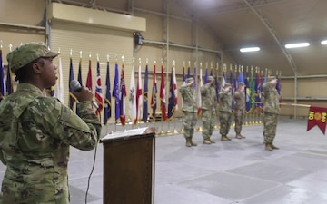 840th Trans Bn HHD Change of Command