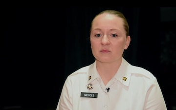Spc. Sarah Nichols - Why I Serve