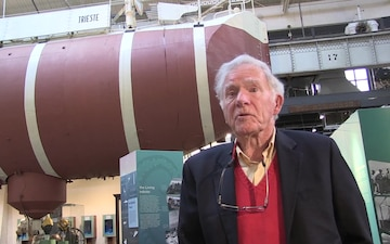 Retired Capt. Don Walsh, USN discusses the bathyscaphe Trieste