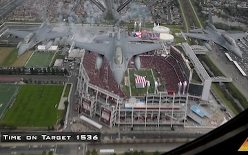 Behind The Scenes 2020 NFC Championship Flyover 49ers Vs. Packers