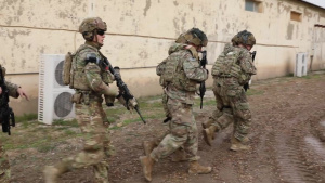 82nd Airborne Base Defense Exercise