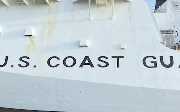 UAS footage of national security cutters at Coast Guard Base Alameda