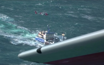 Coast Guard medevacs man near Saint Paul, Alaska