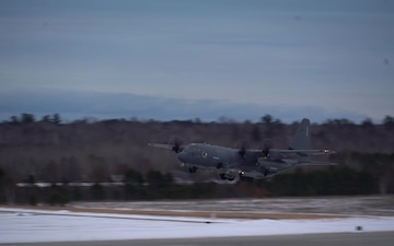 Emerald Warrior 20-1 AC-130 Take Off