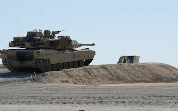 1-150th Cavalry Regiment, 30th Armored Brigade Combat Team Abrams live fire