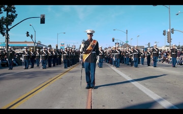 3rd MAW Band at the Tournament of Roses Parade 2020