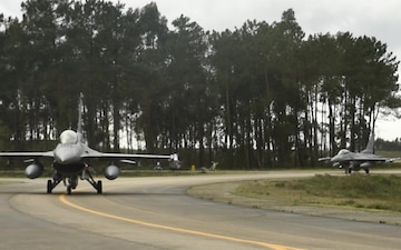 480th EFS Taxi and Take-Offs