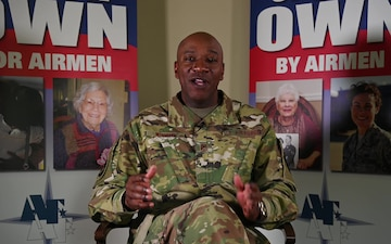 Chief Master Sergeant of the Air Force Kaleth O. Wright's Air Force Assistance Fund thank you message to all project officers