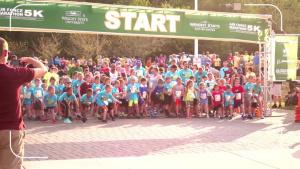 USAF Marathon - Tailwind Trot 1K Kids' Run