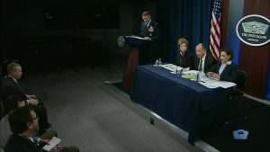 DOD Officials Discuss Cybersecurity Standards