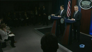 Defense Secretary, Italian Counterpart Conduct Pentagon News Conference