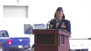 SMSgt Rick DeMorgan Jr. remembrance ceremony