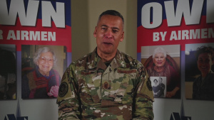Chief Master Sgt. Terrence Greene Air Force Assistance Fund message