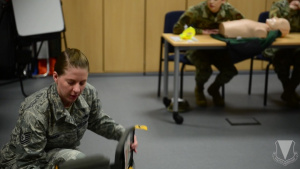 Ramstein Air Base Germany CPR class