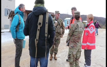 Bavarian Red Cross takes part in Combined Resolve XIII