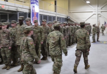 543rd CSC redeploys from Poland