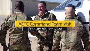 AETC Command Team Visit