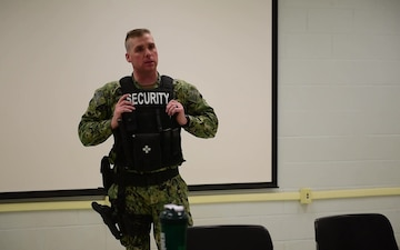 Bangor Security Trains Reservists on Active Shooter scenarios
