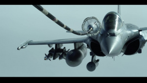 908th EARS refuels Armée de l'Air Rafales