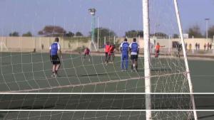 Nigerien Air Base 201 Soccer Match with Local Soccer Club