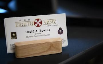 Chaplain David Bowlus Spotlight