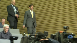 U.S. Defense Secretary in Brussels for NATO Conference