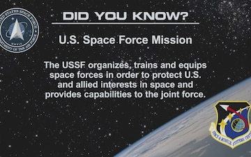 "U.S. Space Force ""Did You Know"" #2"