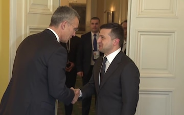 NATO Secretary General bilateral meeting with President of Ukraine