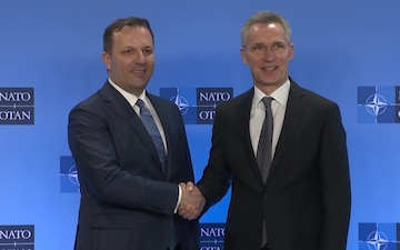 NATO Secretary General Bilateral Meeting with Prime Minister of North Macedonia
