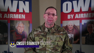 Air Force Assistance Fund 2020 -- Chief Master Sgt. Stan Cadell