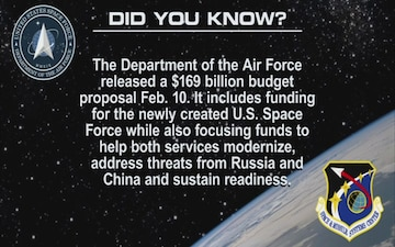 "U.S. Space Force ""Did You Know"" #5"