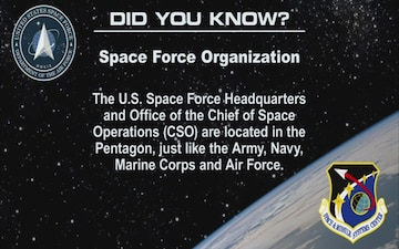 "U.S. Space Force ""Did You Know"" #4"