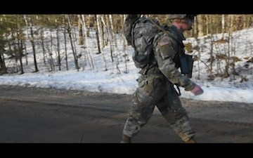 Camp Ripley; Winter Training