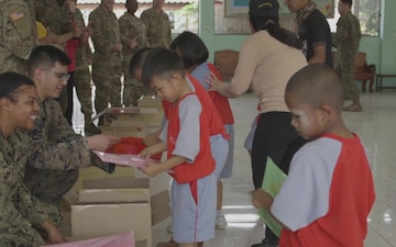 Cobra Gold 20: US Navy community health engagement team bonds with local communities in Phitsanulok